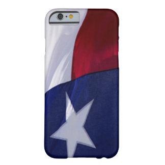 Bandeira do caso do iPhone 6 de Texas Capa Barely There Para iPhone 6
