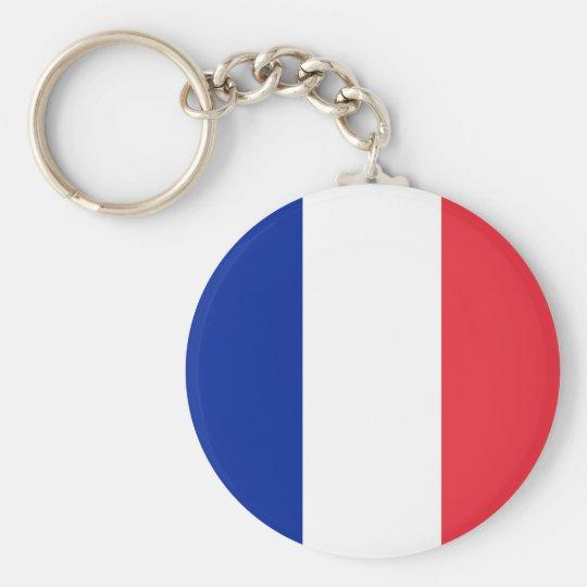 Bandeira do chaveiro de France
