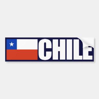 Bandeira do Chile Adesivo Para Carro
