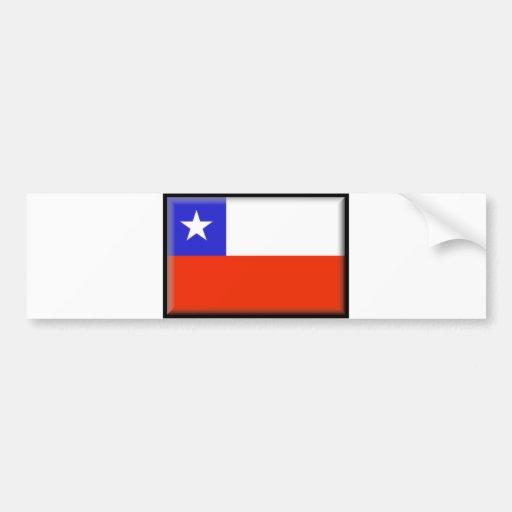 Bandeira do Chile Adesivo