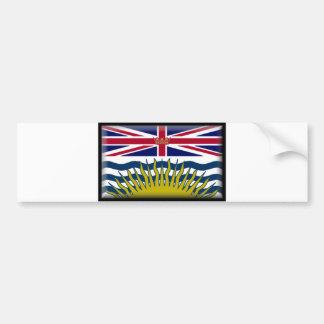 Bandeira do Columbia Britânica Adesivo