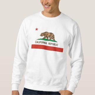 Bandeira do estado da república de Califórnia Moletom