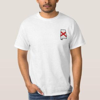 Bandeira do estado de Alabama Camiseta