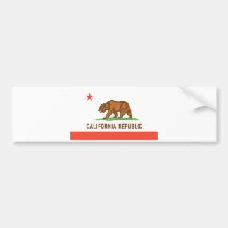 Bandeira do estado de Califórnia Adesivo