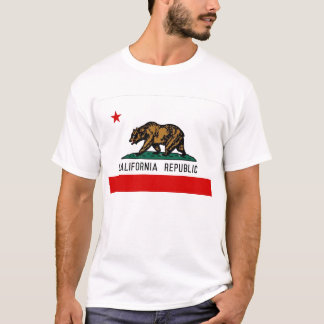Bandeira do estado de Califórnia Camiseta