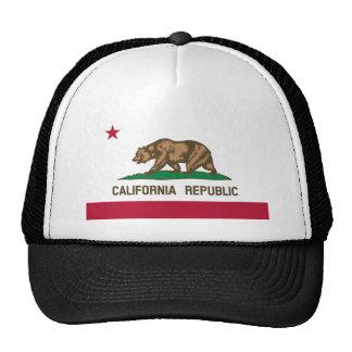 Bandeira do estado de Califórnia Boné