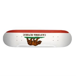 Bandeira do estado de Califórnia Shape De Skate 18,1cm