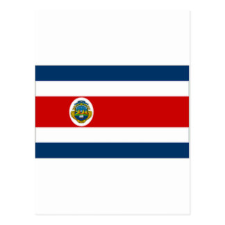 Bandeira do estado de Costa Rica Cartoes Postais