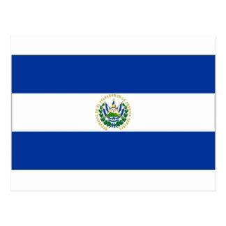 Bandeira do estado de El Salvador Cartão Postal