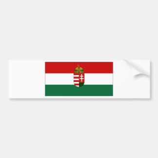 Bandeira do estado de Hungria Adesivo Para Carro