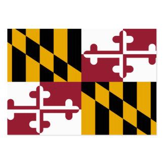 Bandeira do estado de Maryland Modelos Cartão De Visita