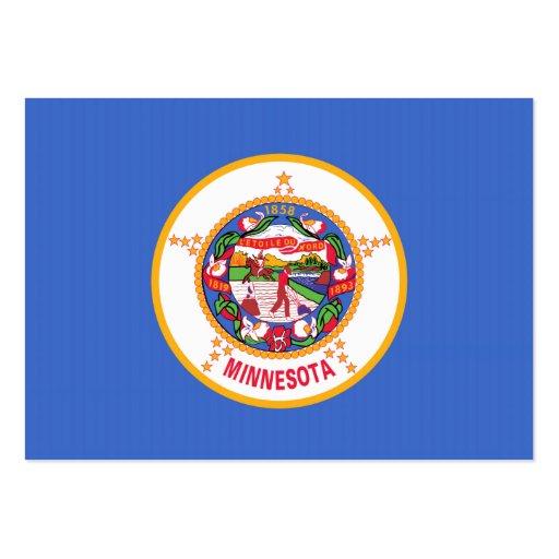 Bandeira do estado de Minnesota Cartao De Visita