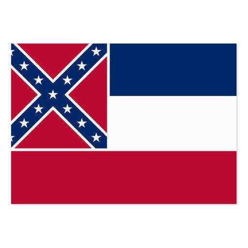 Bandeira do estado de Mississippi Cartões De Visita