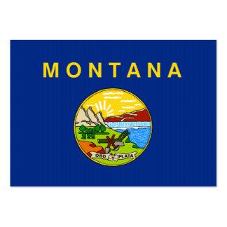 Bandeira do estado de Montana Modelos Cartoes De Visita