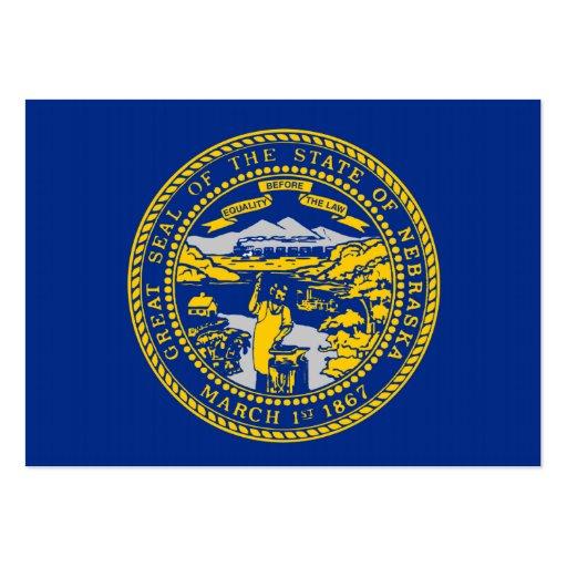 Bandeira do estado de Nebraska Modelo Cartões De Visitas