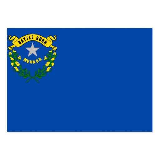 Bandeira do estado de Nevada Cartoes De Visitas