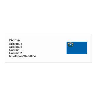 Bandeira do estado de Nevada Cartão De Visita Skinny
