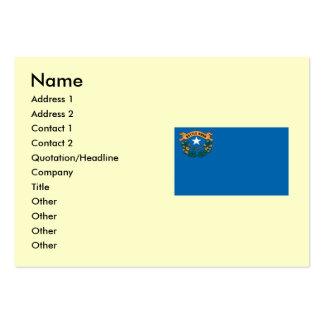 Bandeira do estado de Nevada Cartão De Visita Grande