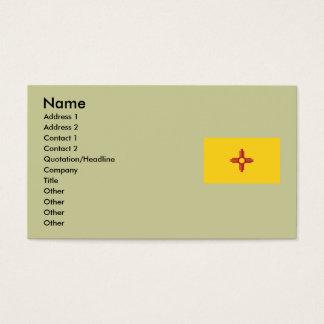 Bandeira do estado de New mexico Cartão De Visitas