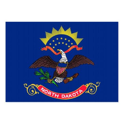 Bandeira do estado de North Dakota Modelos Cartao De Visita