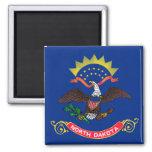 Bandeira do estado de North Dakota Imas De Geladeira