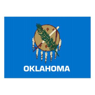 Bandeira do estado de Oklahoma Cartão De Visita Grande