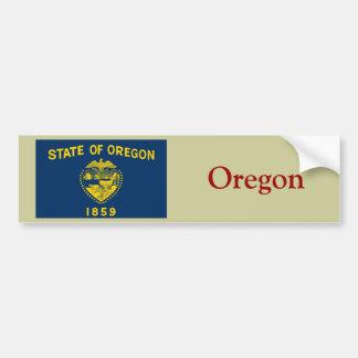 Bandeira do estado de Oregon Adesivo Para Carro