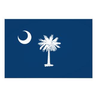 Bandeira do estado de South Carolina Impressão De Foto