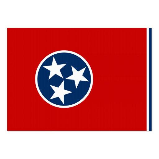 Bandeira do estado de Tennessee Modelo Cartão De Visita