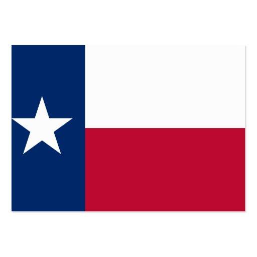 Bandeira do estado de Texas Modelos Cartões De Visitas