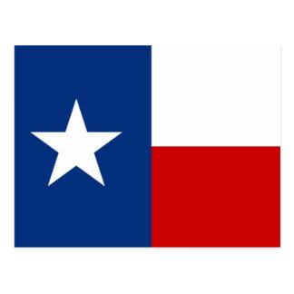 Bandeira do estado de Texas Cartão Postal