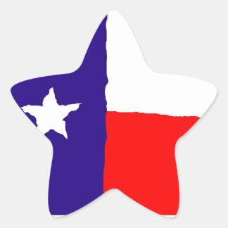 Bandeira do estado de Texas do pop art Adesito Estrela