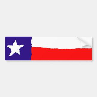Bandeira do estado de Texas do pop art Adesivo Para Carro