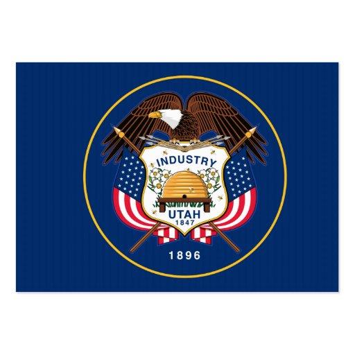 Bandeira do estado de Utá Cartoes De Visita
