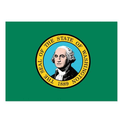 Bandeira do estado de Washington Modelos Cartão De Visita