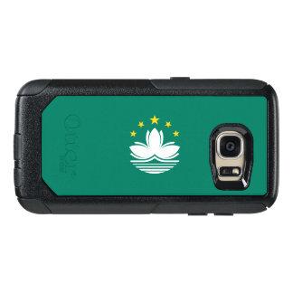 Bandeira do exemplo de Macau Samsung OtterBox