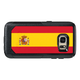Bandeira do exemplo de Samsung OtterBox da espanha