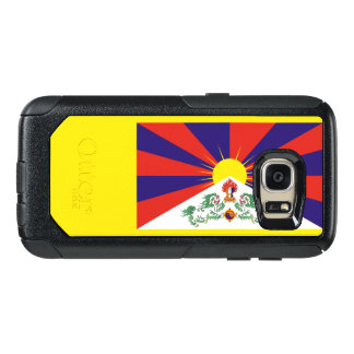Bandeira do exemplo de Tibet Samsung OtterBox