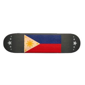Bandeira do filipino do teste padrão do vintage shape de skate 18,7cm