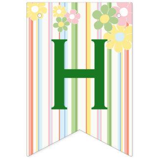 """Bandeira do """"floral"""" de Swallowtail piquenique do"""