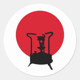 Bandeira do fogão da pressão do vintage de Japão | Adesivo