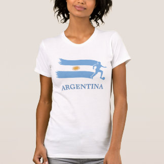 Bandeira do futebol de Argentina Camisetas