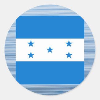 Bandeira do Honduran que flutua na água Adesivo