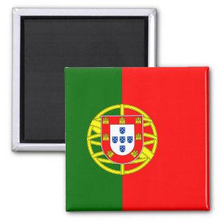 Bandeira do ímã de Portugal (quadrado) Ímã Quadrado
