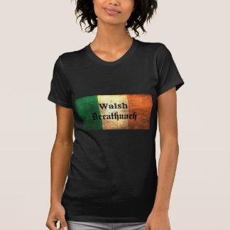 Bandeira do irlandês de Walsh Camiseta