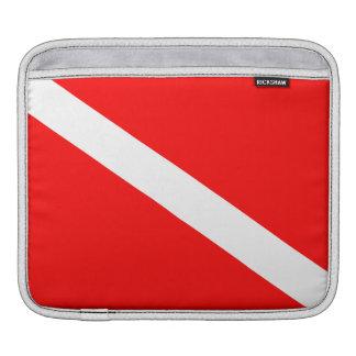 Bandeira do mergulho autónomo capas para iPad