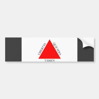 Bandeira do Minas Gerais de Brasil Adesivo Para Carro