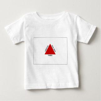 Bandeira do Minas Gerais de Brasil Camiseta Para Bebê