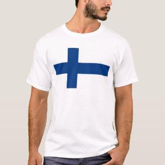 Bandeira do mundo de Finlandia Camiseta