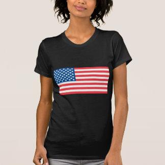 Bandeira do oficial dos EUA T-shirt